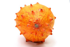 Kiwano or African horned melon Royalty Free Stock Images