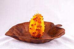 Kiwano (Cucumis metuliferus) Royalty Free Stock Image