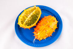Kiwano Cucumis metuliferus Royalty Free Stock Photography
