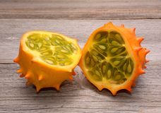 Kiwano fruit royalty free stock image