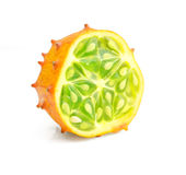 Kiwano fruite isolated Stock Images