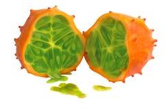 Kiwano frukt fotografering för bildbyråer