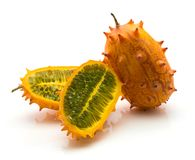 Kiwano melano isolated Royalty Free Stock Photography