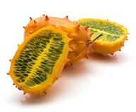 Kiwano melano isolated Stock Image
