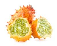 Kiwano melon Fotografering för Bildbyråer