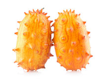 Kiwano melons Royalty Free Stock Photos