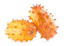 Kiwano melons Royalty Free Stock Images