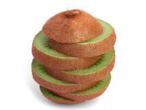 Kiwi. In slices Stock Photography