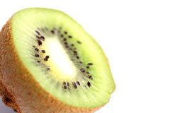 Kiwi. Isolated over the white background royalty free stock photo