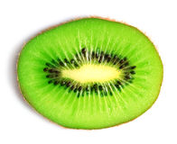 Kiwi. Slice isolated on a white background stock image