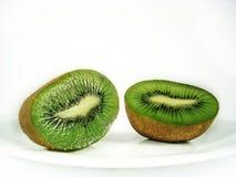 Kiwi. Fruit isolated on white background Royalty Free Stock Images