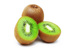 Kiwi. Fruit on white background Royalty Free Stock Photography