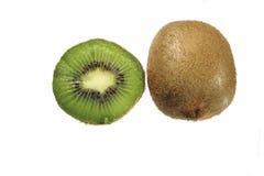 Kiwi. Fresh kiwk isolated on white Stock Images