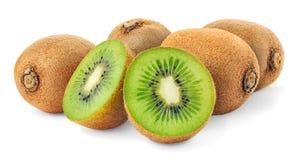 Kiwi. Fruits over white background royalty free stock photo