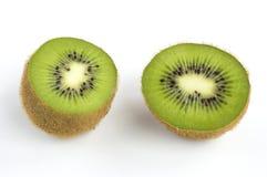 Kiwi. Fruit sliced on two halves Royalty Free Stock Images