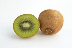 Kiwi. Half of kiwi on  white background Royalty Free Stock Photos
