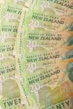 Kiwi $20 rekeningen Stock Afbeeldingen