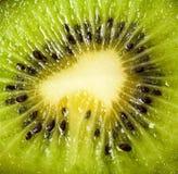 Kiwi. Close-up view of Slices of Kiwi Fruit Royalty Free Stock Photography