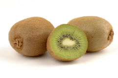 Kiwi. Fruit on a white background Royalty Free Stock Images