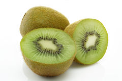 Kiwi. In white background royalty free stock photography