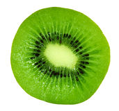Kiwi. Slice kiwi isolated on white Stock Photo