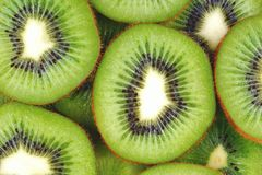 Sliced Kiwi. Sliced section of Kiwi for background royalty free stock image