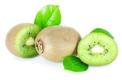 Kiwi. Fruit on a white background Royalty Free Stock Photo