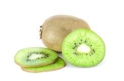 Kiwi. Fruit on a white background Stock Images