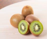 Kiwi. Fruit on cutting board Stock Photo