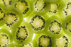 Kiwi. Sliced kiwi stock photo
