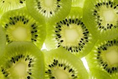 Kiwi. Sliced kiwi stock image