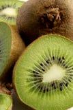Kiwi. Slices closeup Stock Image