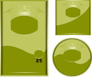 Kiwi. Vector illustration - Carton for desing Stock Image