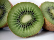 Kiwi. Three half of kiwi Royalty Free Stock Photography