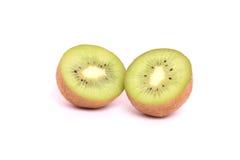 Kiwi. Fresh green kiwi isolated on white background Stock Images