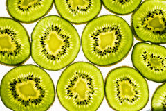 Kiwi. Background with tropical fruit.  Healthy Eating Royalty Free Stock Images