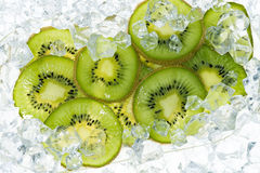 Kiwi. Background with tropical fruit.  Healthy Eating Royalty Free Stock Photography