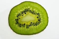 Kiwi. Green Kiwi and Isolated on White background Royalty Free Stock Image