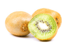 Kiwi. Isolated on the white background Royalty Free Stock Image
