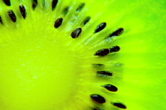 Kiwi. Macro photo of a kiwi Stock Photography