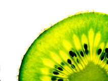 Kiwi. Photo green and fresh cut kiwi Royalty Free Stock Photo
