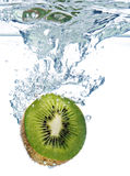 Kiwi in acqua Fotografia Stock