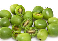 Kiwi Actinidia lub jagody arguta obraz stock