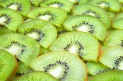 Kiwi affettati Immagini Stock Libere da Diritti