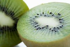 Kiwi affettati, primo piano Immagine Stock Libera da Diritti