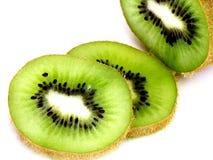 Kiwi affettato Fotografia Stock