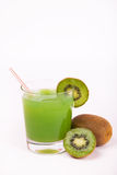 Kiwi alcohol drink with Ice Royalty Free Stock Photos