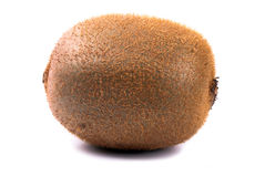 Kiwi all. An entire Kiwi exempted from white background Royalty Free Stock Image