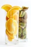 Kiwi&orange fotografia de stock royalty free