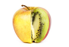 Kiwi in apple Royalty Free Stock Image